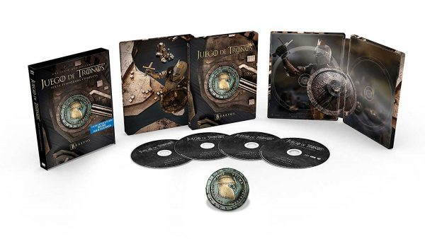 Juego de Tronos. Edición Metálica Temporada 6 en Blu-ray