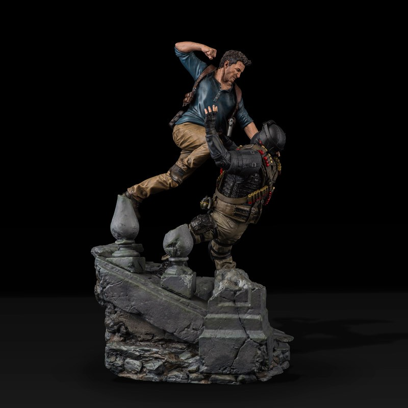 Uncharted 4 Nathan Drake Statue Limited Edition