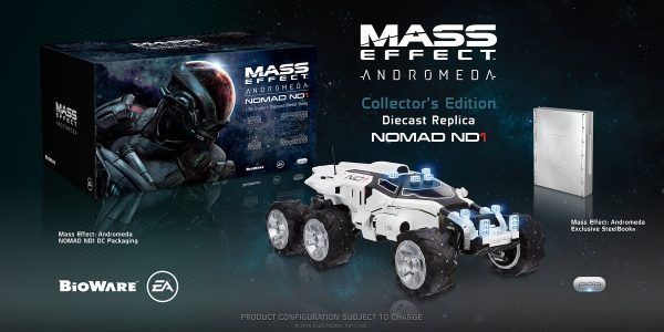 Collector's Edition de Mass Effect: Andromeda