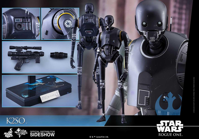Figura de K-2SO -Rogue One- de Hot Toys en escala 1/6