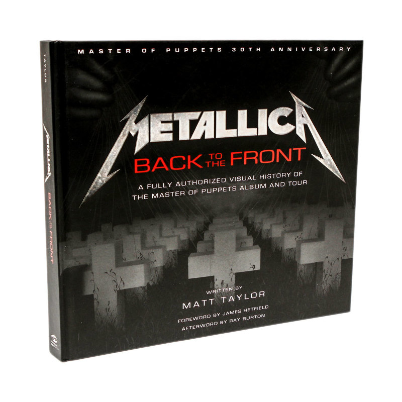 Libro metallica back to the front de norma editorial for Libro fuera de norma