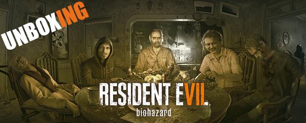 Unboxing de la Edición Coleccionista Americana de Resident Evil 7: Biohazard