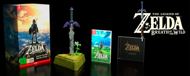 Nuestras ediciones: Unboxing de The Legend of Zelda Breath of the Wild