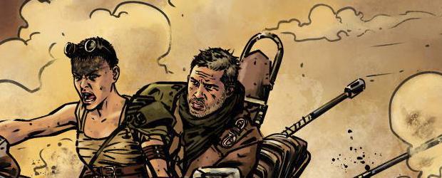 Cómic independiente Furiosa (Mad Max) de Badau Ediciones