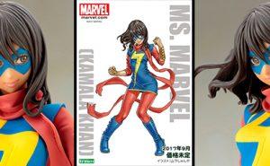 Ms. Marvel Kamala Khan Colección Bishoujo
