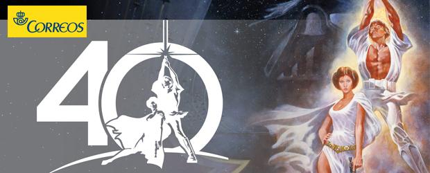 Correos celebra los 40 años de Star Wars