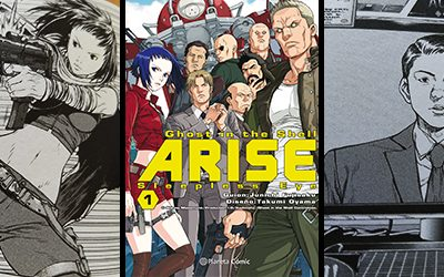 Reseña de Ghost in the Shell Arise -Sleepless Eye- de Planeta Cómic