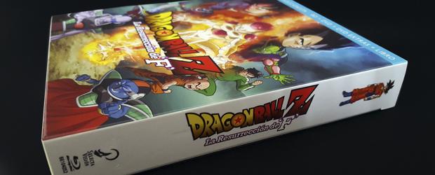 Unboxing y análisis del Digipak de Dragon Ball – La Resurrección de F