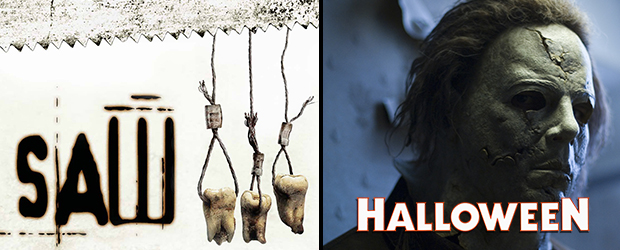 Ediciones Especiales de Saw 3 y Halloween 2 y 3