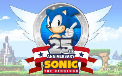 Sonic The Hedgehog 25th Aniversario Artbook