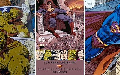 Reseña de Grandes Autores de Superman Walter Simonson – El Hombre de Arena – ECC Ediciones