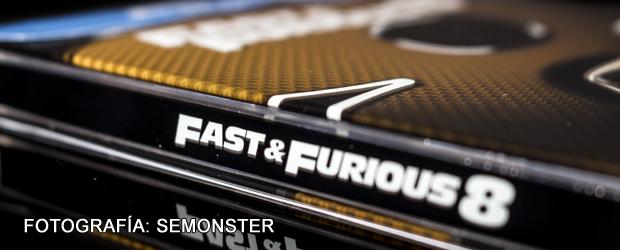 Unboxing fotográfico edición metálica Fast & Furious 8