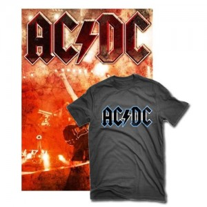 AC/DC Live At River Plate en DVD + camiseta y Blu-Ray