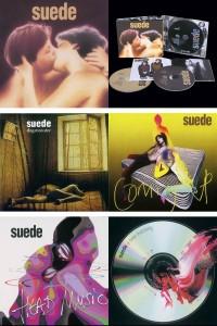 Suede - Ediciones Deluxe