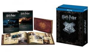 Edición premium Blu-ray y DVD Harry Potter completa