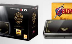 Nintendo 3DS Edición Limitada 25 aniversario The Legend of Zelda