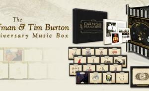 Danny Elfman & Tim Burton Music Box 25 aniversario Edición Limitada