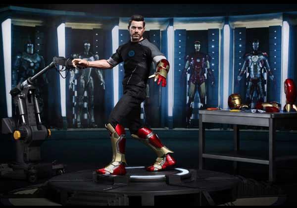 Iron Man 3 Tony Stark Armor Testing 1-6 Hot Toys