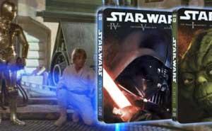 Star Wars Steelbook Trilogía Blu-ray