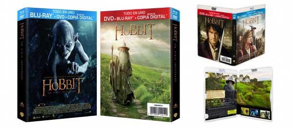 """El Hobbit: Un Viaje Inesperado Ediciones """"Todo en 1"""""""