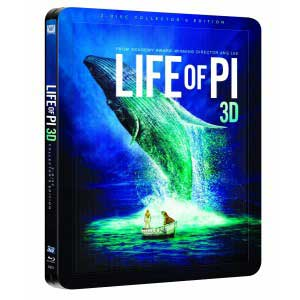La Vida de Pi Steelbook Blu-ray 3D