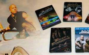 Fast and Furious Steelbook Blu-ray Saga