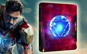 Iron Man 3 Edición Metálica Blu-ray