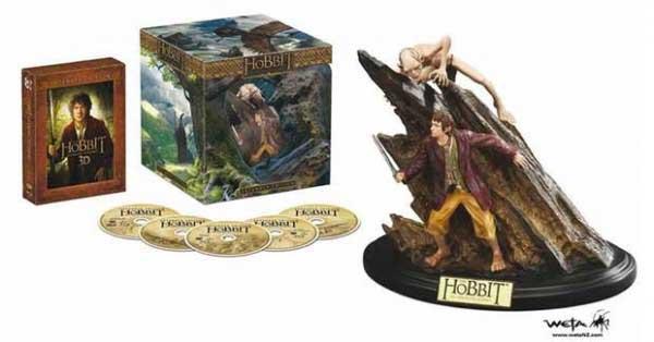 El Hobbit: Un Viaje Inesperadao Edición Especial Extendida con figura