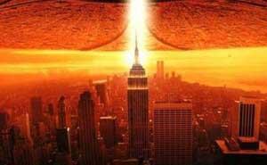 Escena de la película Independence Day