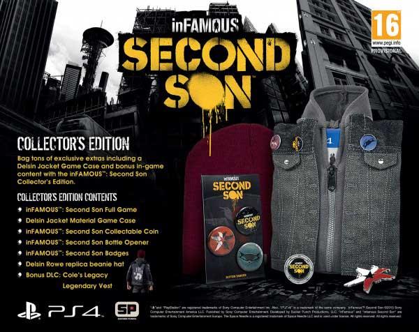 inFamous: Second Son Edición Coleccionista