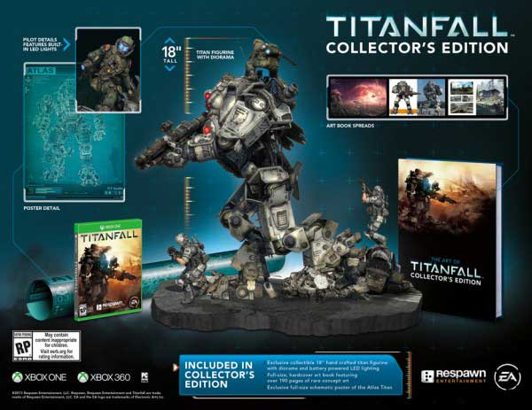 Titanfall Edición Coleccionista