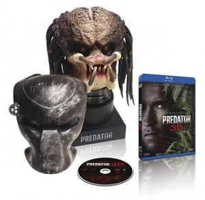 Busto Depredador Blu-ray 3D Edición Coleccionista