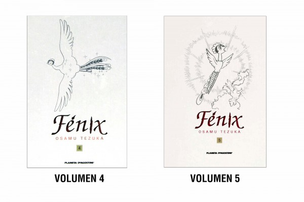 Fénix Vol. 4 y 5 de Osamu Tezuka