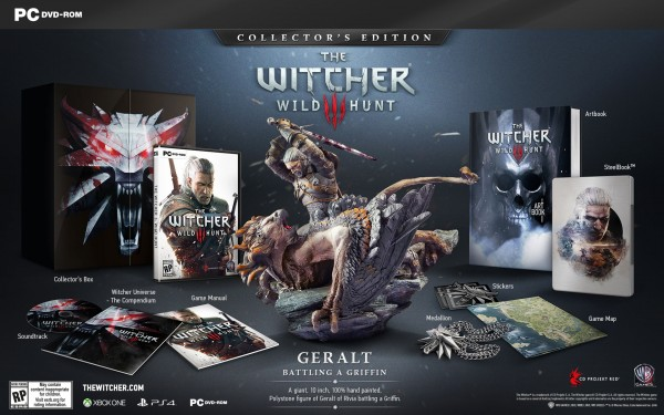 The Witcher 3 Wild Hunt Edición Coleccionista