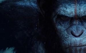 César, en una escena del Amanecer del Planeta de los Simios