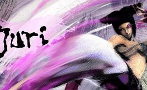 Juri Han, luchadora de Street Fighter