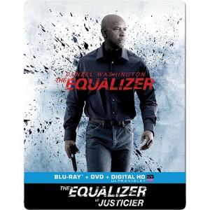 Portada de las ediciones francesa y británica de The Equalizer