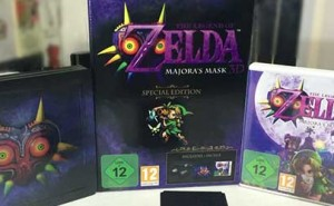 The Legend of Zelda Majora's Mask 3D Edición Limitada