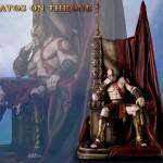 Kratos en el Trono Edición Estándar