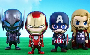 Set de Figuras Cosbaby de Marvel Los Vengadores La Era de Ultron de Hot Toys