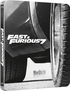 Fast and Furious 7 steelbook