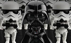 Nendoroids de Darth Vader y Stormtrooper por Good Smile Company