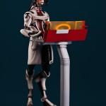 Figura de Mordin, de Mass Effect, exclusiva de Gaming Heads