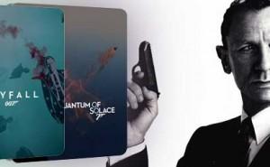 Skyfall y Quantum of Solace en Edición Metálica