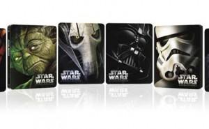 Ediciones metálicas de Star Wars en Blu-ray