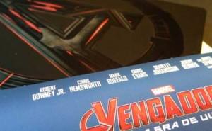 Edición Metálica de Los Vengadores 2 en Blu-ray
