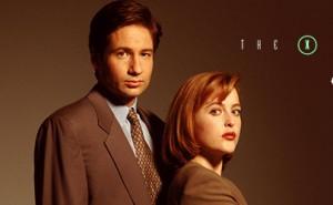 Los agentes Mulder y Scully, protagonistas de Expediente X