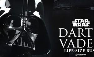 Busto Edición Limitada de Darth Vader Tamaño Real Sideshow