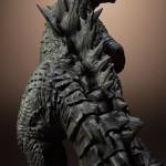 Figura Maquette de Godzilla Sideshow