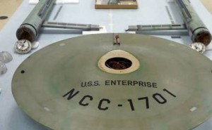 Fotografía de Theregister.co.uk del U.S.S. Enterprise